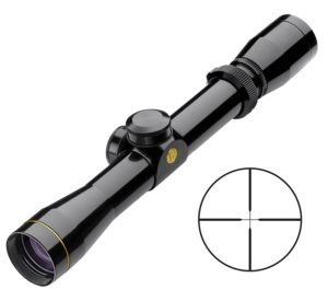 black rifle scope
