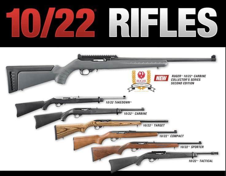 Ruger 1022 variations