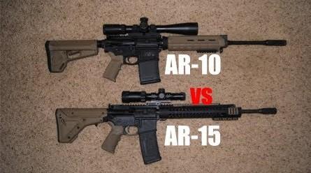 ar 10 vs ar 15 comparison