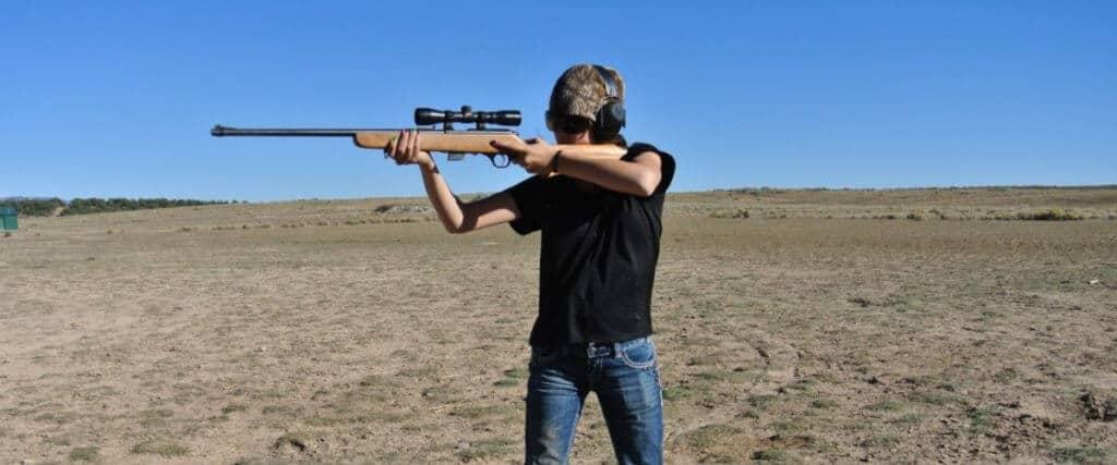 four standard rifle firing positions